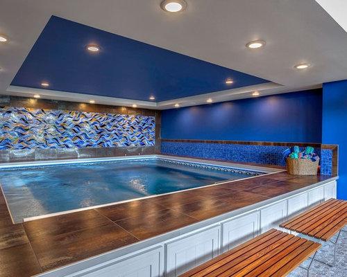 Oberirdischer pool design ideen bilder beispiele - Rechteckiger pool ...