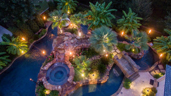 Colleyville HGTV Cool Pools/ Ultimate Pools Residential Lazy River