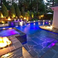 Modern Pool by J. Brownlee Design