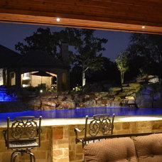 Rustic Pool by Mike Farley Pool Designer
