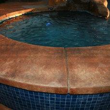 Tropical Pool by Spragues' Ready Mix Concrete