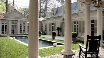 Columns on Porch Addition
