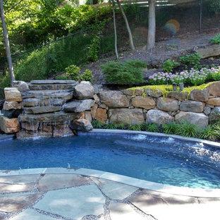 Compact Swim Spa Natural Design