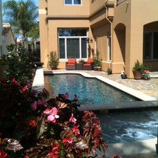 Traditional Pool by Tuscany Builders