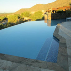 Contemporary Pool by Cameo Pools