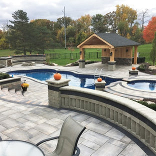 Complete Outdoor Living Space with Pool