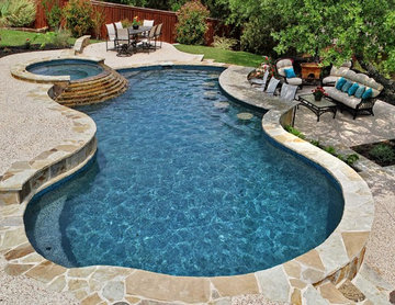 Completed Pools In San Antonio Area