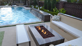 Completely Contemporary Pool Environment