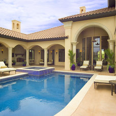 Mediterranean Pool by J. Allen Designs