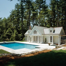 Traditional Pool by Seitz Architects