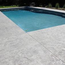 Pool by Creative Concrete Inc.