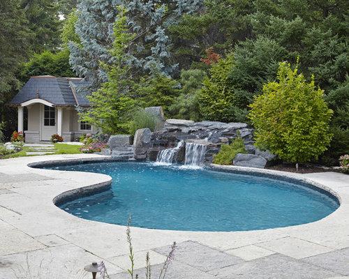 Kidney Shaped Pool Home Design Ideas Renovations Photos
