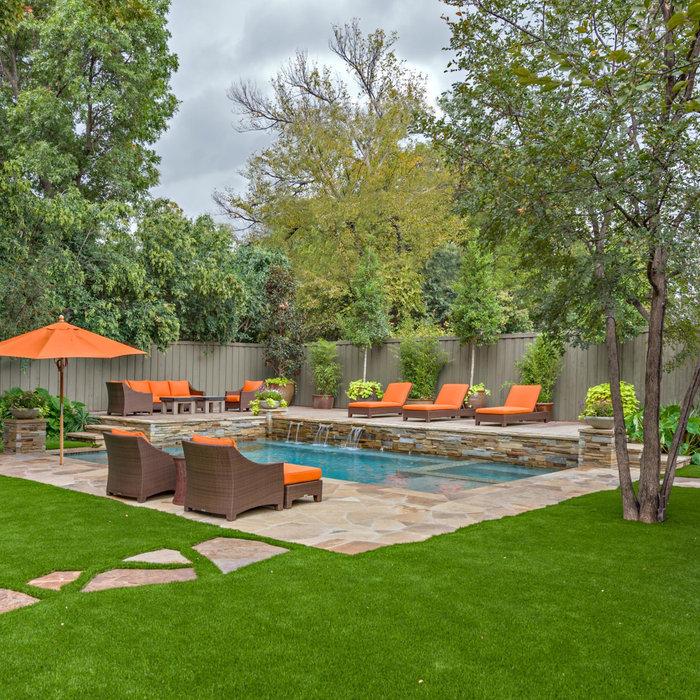 Stylish Pool Garden