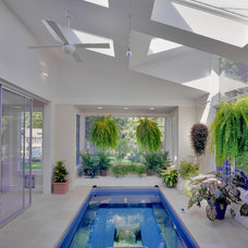 Modern Pool by Van Dusen Architects