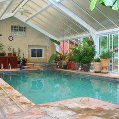 contemporary pool by Conservatory Craftsmen
