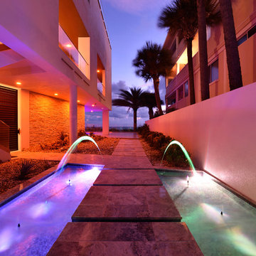 Contemporary Beach House Treasure Island