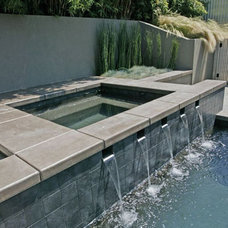 Contemporary Swimming Pools And Spas by SCHULTZ ARCHITECTURE CORPORATION