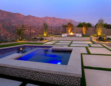 Contemporary Entertainer's Pool
