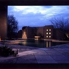 Contemporary Pool by Greg Trutza