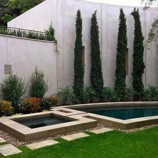 Pool - contemporary pool idea in San Diego