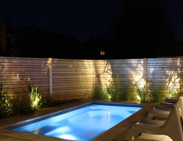 Contemporary Landscape Makeover // Driveway // Patio & Pool // Walkway