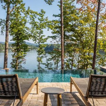 Contemporary Mountain Lake Home