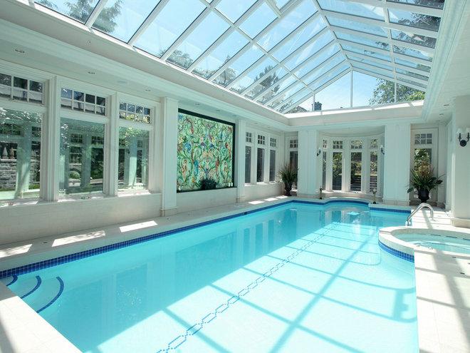 Contemporary Pool Contemporary Pool