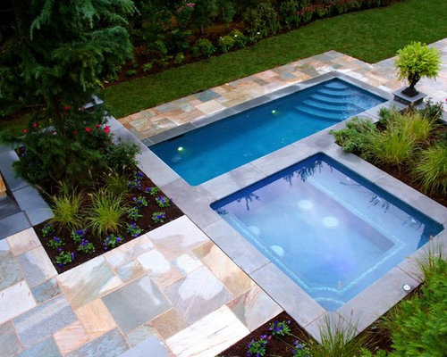 Pool With Spa Designs freeform swimming pool spa Pool Spa Design