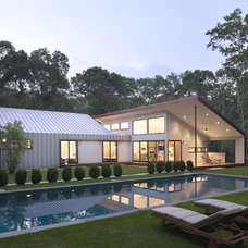 Contemporary Pool by Eisner Design LLC