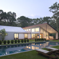 modern pool by Eisner Design LLC