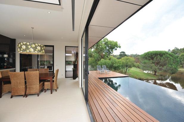 Contemporary Pool by Graham Jones Design