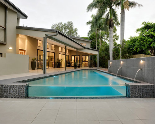 Brisbane pool design ideas renovations photos with for Pool design brisbane