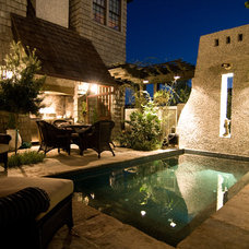 Contemporary Pool by Dungan Nequette Architects
