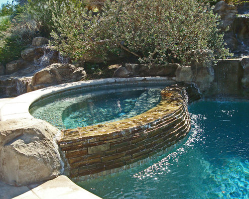 Best Spa Waterfall Design Ideas Amp Remodel Pictures Houzz