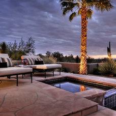 Mediterranean Pool by Fratantoni Luxury Estates
