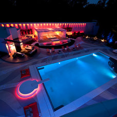 Contemporary Pool by Amazing Design