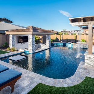 Contemporary styled Pool