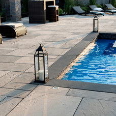 Contemporary Pool by Techo-Bloc