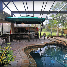 Eclectic Pool by Jaime Cadorette - S&W Kitchens
