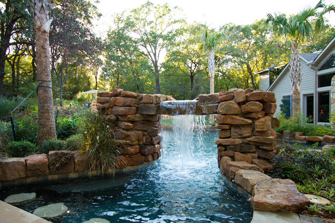 Tropical Pool by Taylor Landscape Company