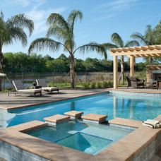 Contemporary Pool by Arthur Rutenberg Homes