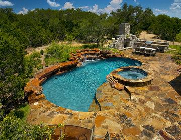 Cordillera Ranch Natural/Freeform Pool/Spa/Outdoor Living