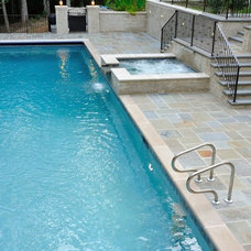 Traditional Pool by Serenity Hardscapes