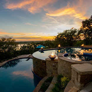 Corinth Lakeview Double Pool with Spa