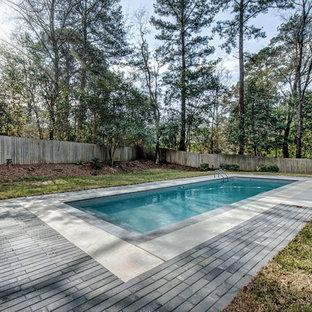 Inspiration pour une piscine urbaine.