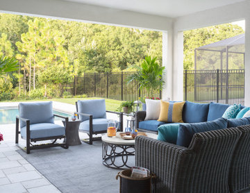 Covered Patio Living Space