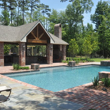 Traditional Pool by Landscape Architect
