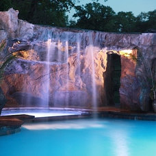 Traditional Swimming Pools And Spas by ADC Hardscapes