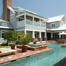 Traditional Pool by Amanda Webster Design