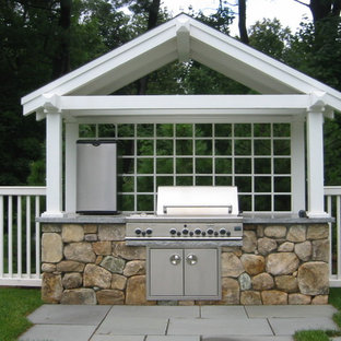 Craftsman-Style Addition - Pool Grille